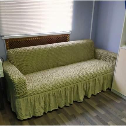 "Комплект чехлов на диван и кресла CONCORDIA ""Sofa set"", цвет: фисташка, 3 предмета"