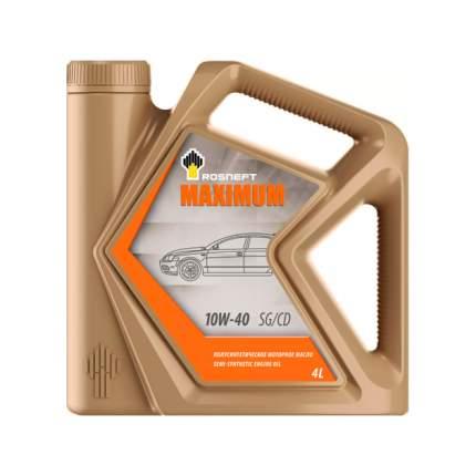 Масло моторное Rosneft Maximum 10W40 полусинтетическое 4 л 40814342