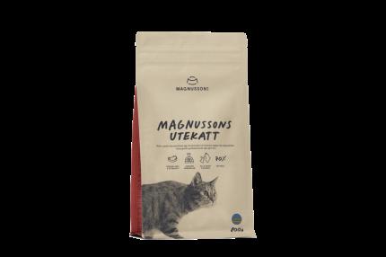 Сухой корм для кошек Magnussons Utekatt, для активных говядина, 0.8кг