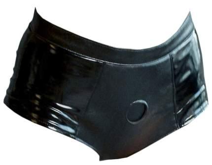 Черные трусики для страпона Faster размер M-L Lola toys