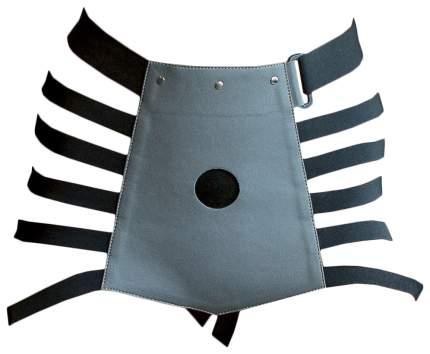 Черно-серые трусики для страпона Madly размер S-M Lola toys