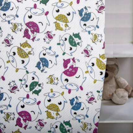 Одеяло-покрывало трикотажное Веселая корова 140х200