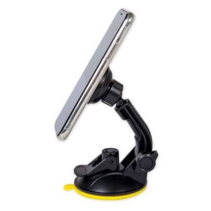 Держатель телефона/навигатора магнитный на лобовое стекло/панель черный ARNEZI A0602050