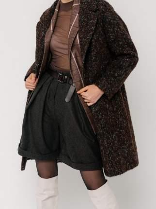 Повседневные шорты женские ME TODAY Stile коричневые M