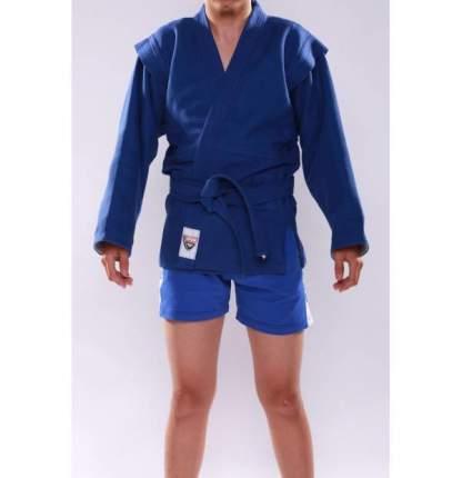 Кимоно (куртка) для самбо - самбовка, синий и красный, все размеры (Красный, 34)