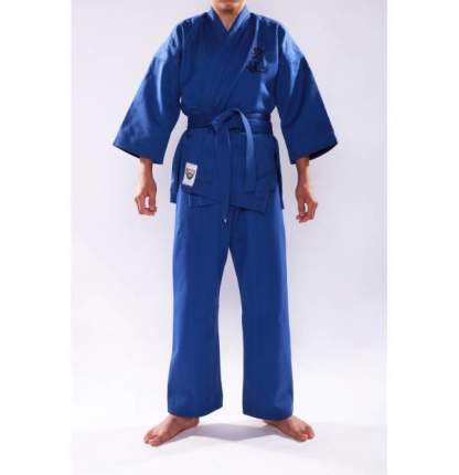 Кимоно для Кудо синее, все размеры (размер 24-26 рост до 122)