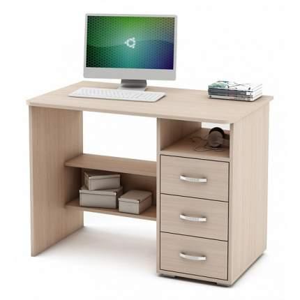 Компьютерный стол ВМФ Форест-3 MAS_PSF-3-DM, дуб молочный