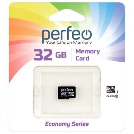 Карта памяти Perfeo microSD 32GB High-Capacity (Class 10) без адаптера economy series