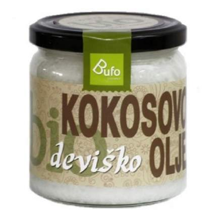 Кокосовое масло Bufo Organic 500 мл