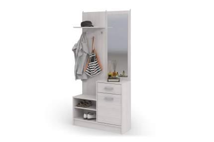 Набор мебели для прихожей Стендмебель Дебора Дуб анкор, ЛДСП/Зеркало, Дуб анкор