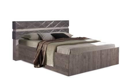 Кровать Мебель КМК 1600 Монако 1 Сосна натуральная/Дуб шато 2000х1600 мм