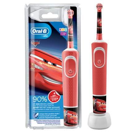 Электрическая зубная щетка Braun Oral-B Vitality Kids Тачки (D100.413.2K)