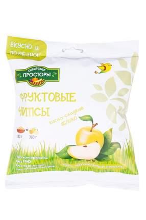 Чипсы Сибирские Просторы яблоко кисло сладкое 30 г