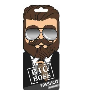 Ароматизатор Freshco Территория Мужчин пропитанный пластинка (ТМ Boss) парфюм AR1TM030