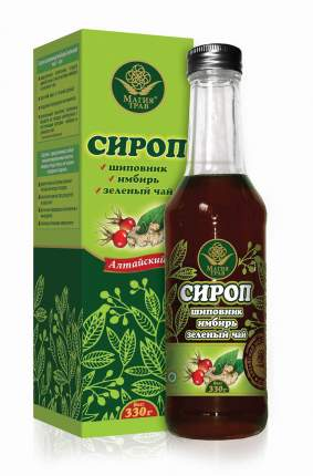 Сироп имбирь-зеленый чай 330 г