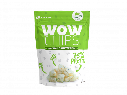 Чипсы Geon Wow Chips 30 г прованские травы