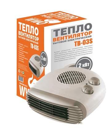 Тепловентилятор WWQ ТВ-03S белый