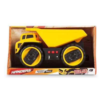 Фрикционный автомобиль Handers Большие колёса. Самосвал, 25 см, свет, звук