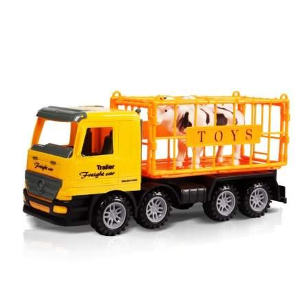 Фрикционная машинка Handers Грузовик, Перевозка животных 33 см, HAC1608-121