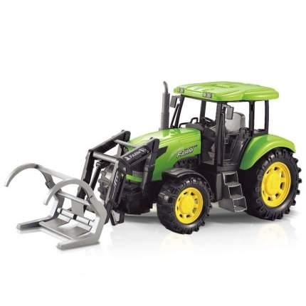 Фрикционная игрушка Handers Трактор с ковшом для брёвен, 43 см