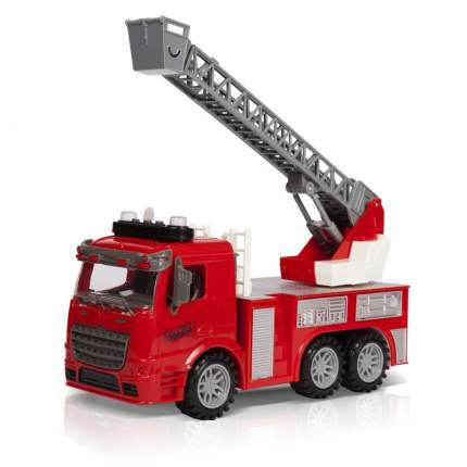Фрикционная игрушка Handers Пожарная машина. Автолестница, 30 см