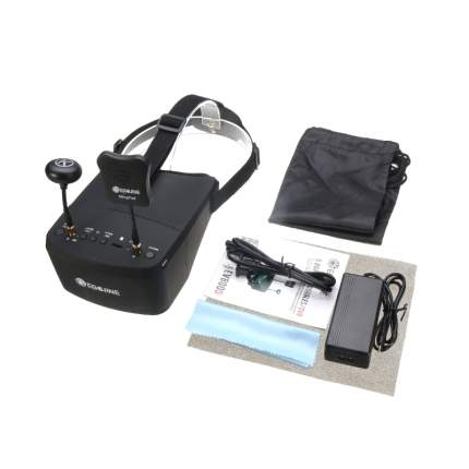 "Видеошлем Eachine EV800D 5"" 800x480 FPV Goggles Diversity 5.8G 40CH Raceband"