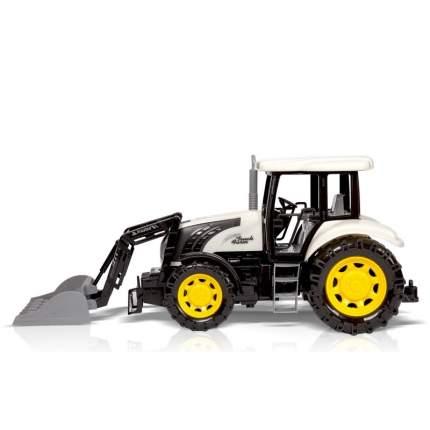 Фрикционная игрушка Трактор с ковшом-граблями
