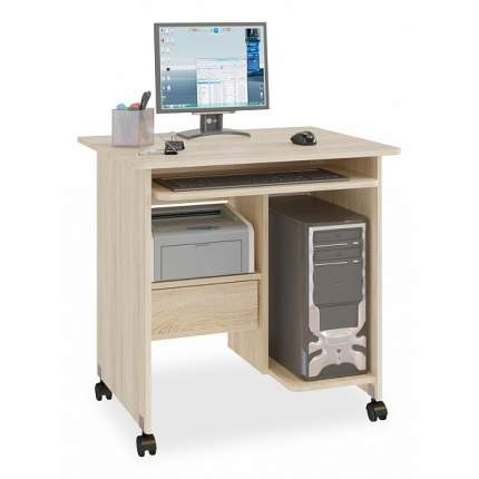 Стол компьютерный КСТ-10.1; дуб сонома
