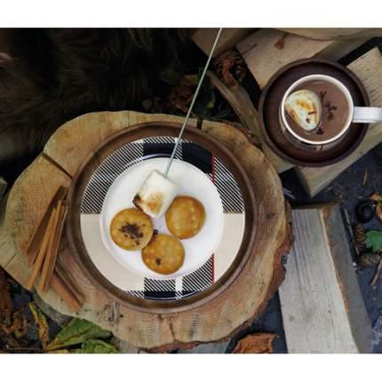 Кружка ASA Selection Tartan 350мл, цвет коричневый