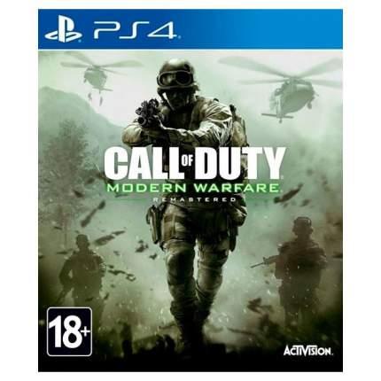 Игра Call of Duty: Modern Warfare Remastered для PlayStation 4