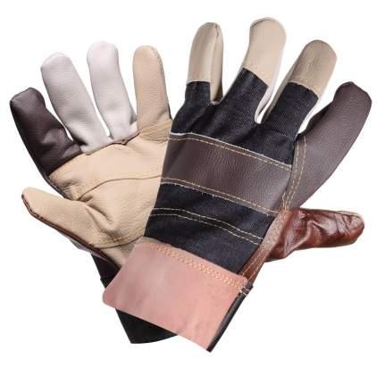 Перчатки комбинированные, натур. кожа/ткань AIRLINE AWG-S-13