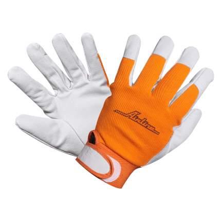 Перчатки козья кожа, комбинированные AIRLINE AWG-S-14