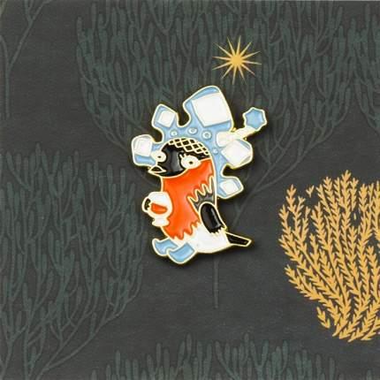 Значок Студия Артемия Лебедева V008654 Снегурь голубой