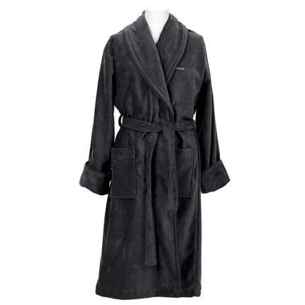 Халат унисекс Gant Home PREMIUM VELOUR размер XXL, цвет серый