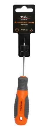 Отвертка крестовая с эргономичной рукояткой магнитная PH0*75мм AIRLINE AT-SP0-01