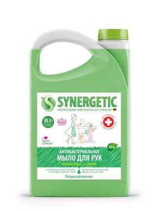 """Жидкое мыло SYNERGETIC """"Лемонграсс и мята""""антибактериальное с нейтрализацией запахов, 3,5л"""