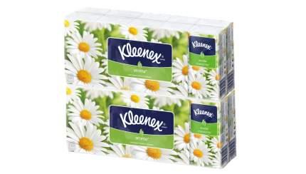 Платочки бумажные ароматизированные KLEENEX ВЕЛТИ РОМАШКА (Набор из 2 спаек)