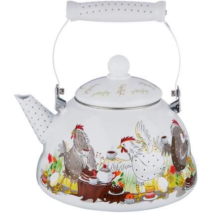Чайник AGNESS, Куриный переполох, 3 л