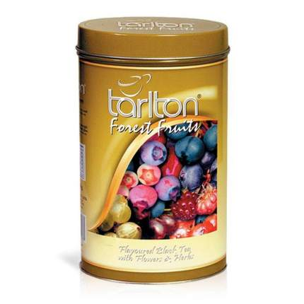 Черный чай Тарлтон лесные ягоды 100 г