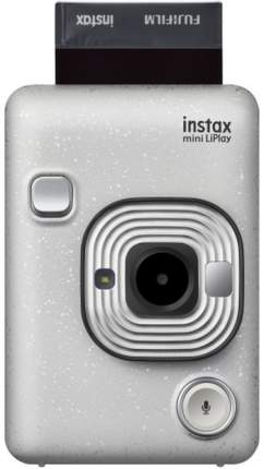 Фотоаппарат моментальной печати Fujifilm Instax Mini Liplay Stone White Bundle