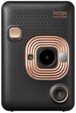 Фотоаппарат моментальной печати Fujifilm Instax Mini Liplay Elegant Black Bundle