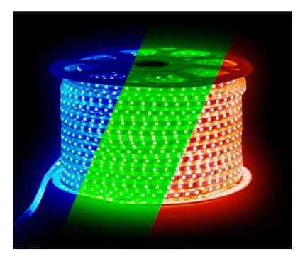 Светодиодная лента SMD 5050, 60 LED, 220 В, 14.4 Вт, IP67, 900 лм, RGB