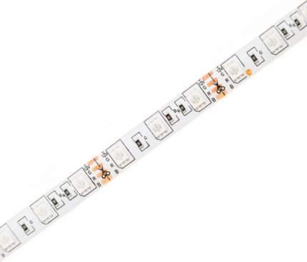 Светодиодная лента SMD 5050, 60 LED, 12 В, 14.4 Вт, IP65, 600 лм, RGB