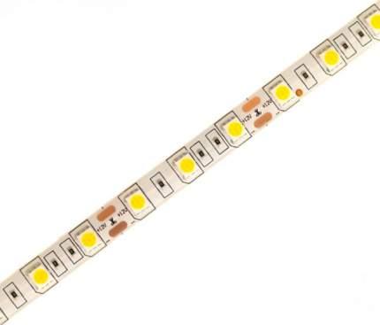 Светодиодная лента SMD 2835, 120 LED, 12 В, 9.6 Вт, IP22, 1200 лм, теплый белый (3000 К)