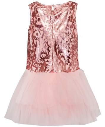 Платье для девочек Button Blue, цв. розовый, р-р 98