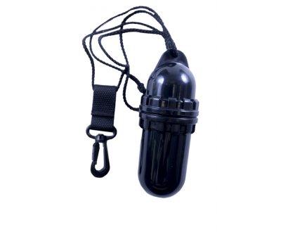 Водонепроницаемый пластиковый контейнер, черный 14х5 см ProBlue