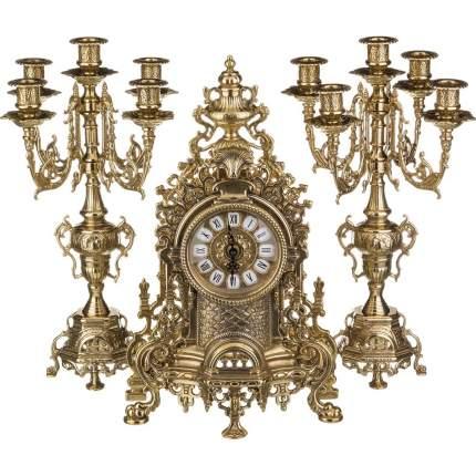 Комплект часы и подсвечники Alberti Livio, 3 предмета