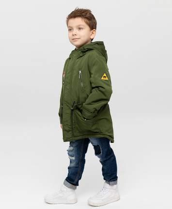 Пальто для мальчиков Button Blue, цв. хаки, р-р 98