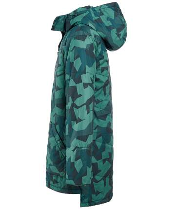 Пальто для мальчиков Button Blue, цв. зеленый, р-р 104