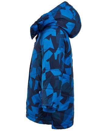 Пальто для мальчиков Button Blue, цв. синий, р-р 104